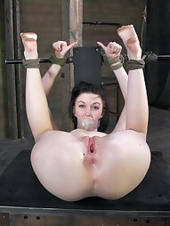 First Bondage and Rough Sex Scene