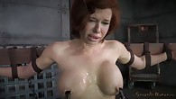 Stunning busty MILF does deepthroat