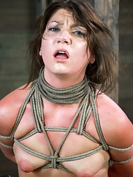 Sexy Mid Western girl Suffers Category 5 bondage
