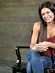 Sofia Delgado - First Bondage, pic #2