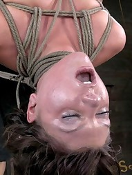 Sexy Mid Western girl Suffers Category 5 bondage, pic #13