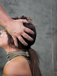 Sofia Delgado does her first bondage, pic #12
