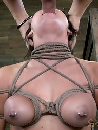 Sofia Delgado does her first bondage, pic #14
