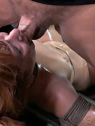 Sexy Redhead Has Her World Rocked, pic #9