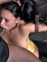Booming E cup MILF tied up, pic #15