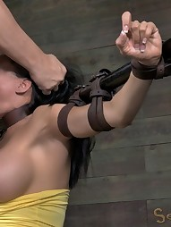 Booming E cup MILF tied up, pic #10