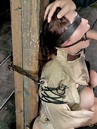 Ring Gagged, Blind Folded and Skull Fucked, pic #5