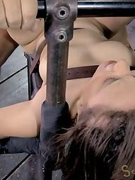 Gabriella suffers extreme deepthroating, pic #9