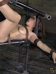 Gabriella suffers extreme deepthroating, pic #10