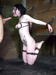 Shackled,chained and facefucked, pic #7