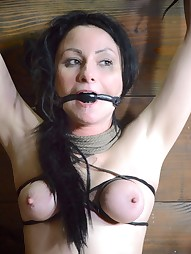 Shackled,chained and facefucked, pic #9