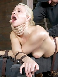 Anikka Gets Her Throat Worked Over, pic #4