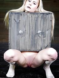 Tiny blonde turned into blowjob box, pic #4