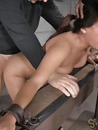 Latina Gets Fucked From Both Ends, pic #11