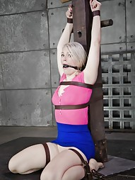 Blonde Gets Fucked From Both Ends, pic #9