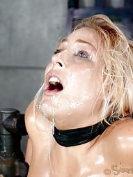 Blowjobs In Brutal Breast Bondage, pic #12