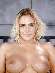 Blowjobs In Brutal Breast Bondage, pic #3