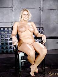 Blowjobs In Brutal Breast Bondage, pic #4