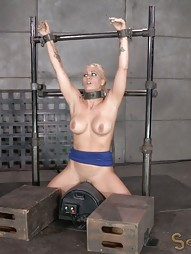 Shackled to a sybian, pic #4