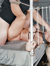 Big titted blonde takes on BBC, pic #14