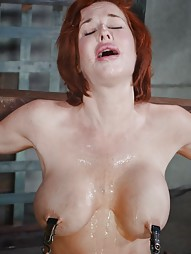 Stunning busty MILF does deepthroat, pic #10