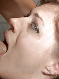 Mummified Redhead Gets Face Fucked, pic #1