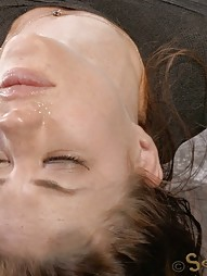 Mummified Redhead Gets Face Fucked, pic #15