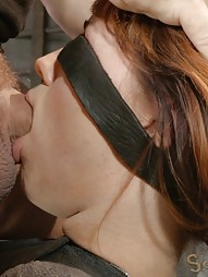 Mummified Redhead Gets Face Fucked, pic #4