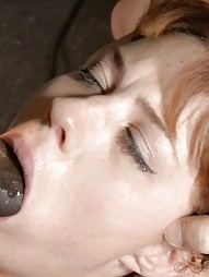 Mummified Redhead Gets Face Fucked, pic #6