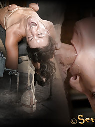 Throat Boarded on a Sybian, pic #10