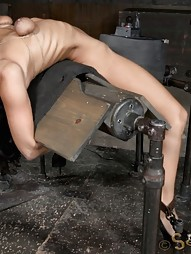 Throat Boarded on a Sybian, pic #8