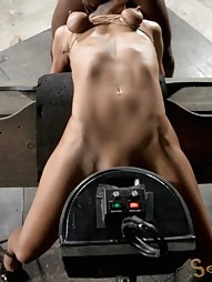Throat Boarded on a Sybian, pic #13